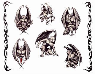 tatuaże demon