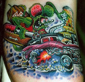 Car Tattoo Design Pictures