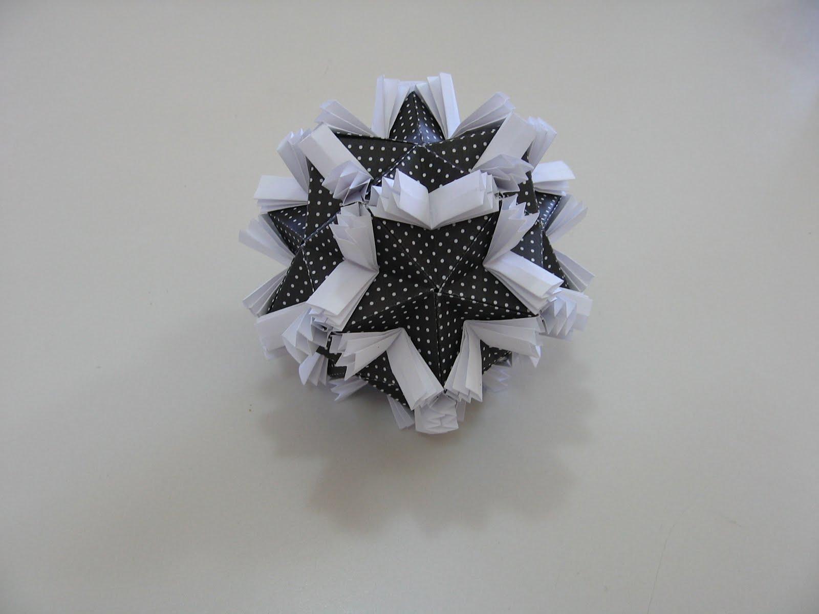 Floral Origami Globes Tomoko Fuse Diagrams