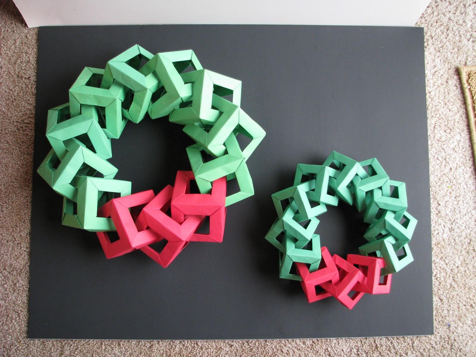 Stephen 39 S Origami Origami Christmas Decorations Origami
