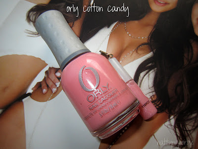 Orly Cotton Candy Nail Polish Review