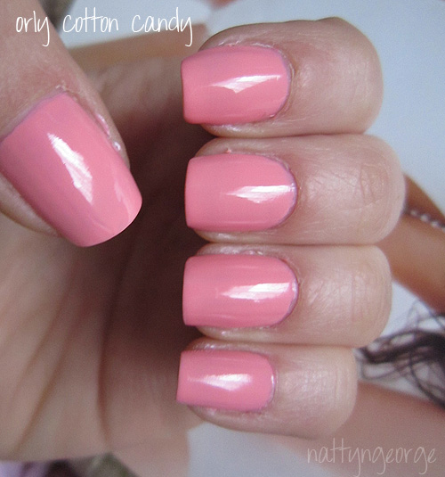 Cotton Candy Nail Polish 77: NOTD: Orly Cotton Candy