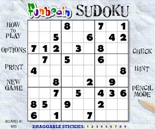 Gamificación: Sudoku