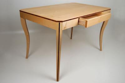 Tisch Ahorn Mit Schublade