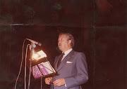 V FIESTA LA BIZNAGA. PREGONERO AÑO 1979.