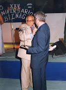 XXV FIESTA LA BIZNAGA. PREGONERO AÑO 1999