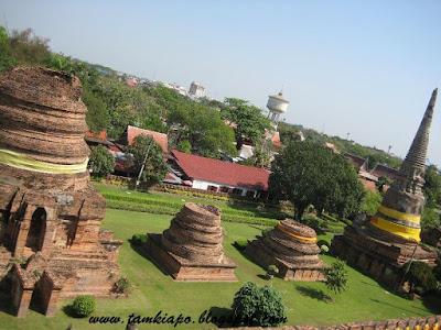 Ayutthaya historical ruins