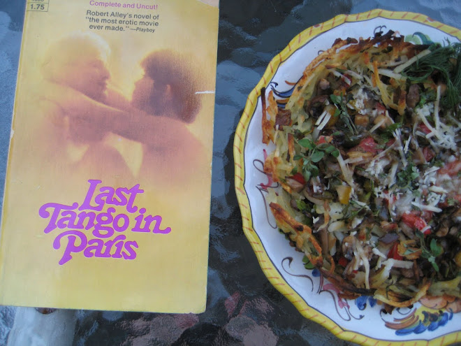Last Tango in Paris and Vegetarian Tart with Hash Brown Crust