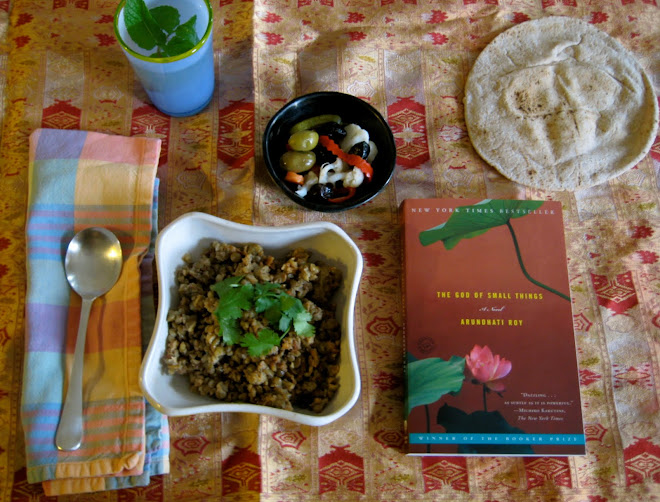Mujadara with Pickles and Arundhati Roy, The God of Small Things