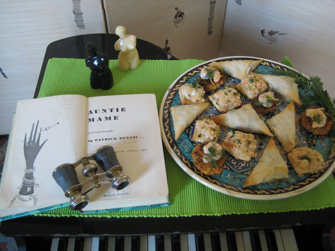 Patrick Dennis's Auntie Mame and Hot Shrimp Appetizers