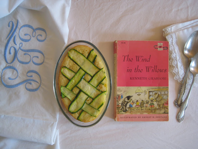Sweet Corn Custard and The Wind in the Willows