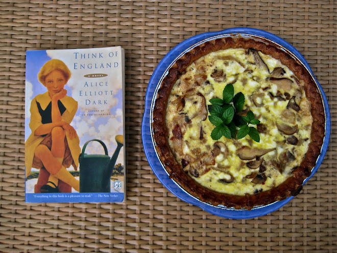 Mushroom Quiche with Think of England