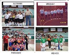 ALEMANIA - URUGUAY - PARAGUAY y MEXICO SEMIFINALISTAS