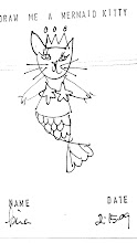 mermaid kitty by miss birney