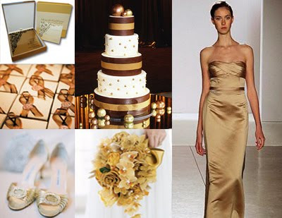 gold weddings