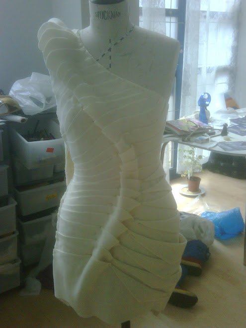 The dress i made for All Walks Beyond The Catwalk
