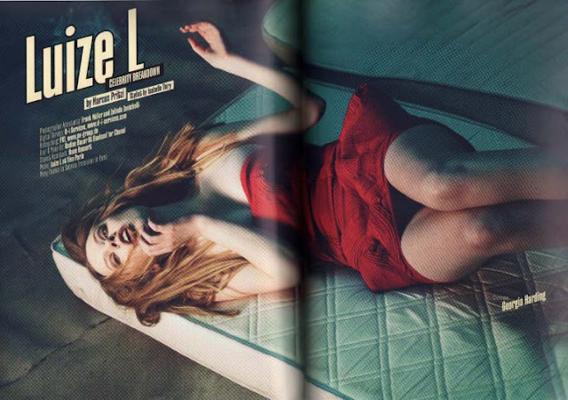 PAPER PLANES MAGAZINE FEATURING MY SS2010 DRESS