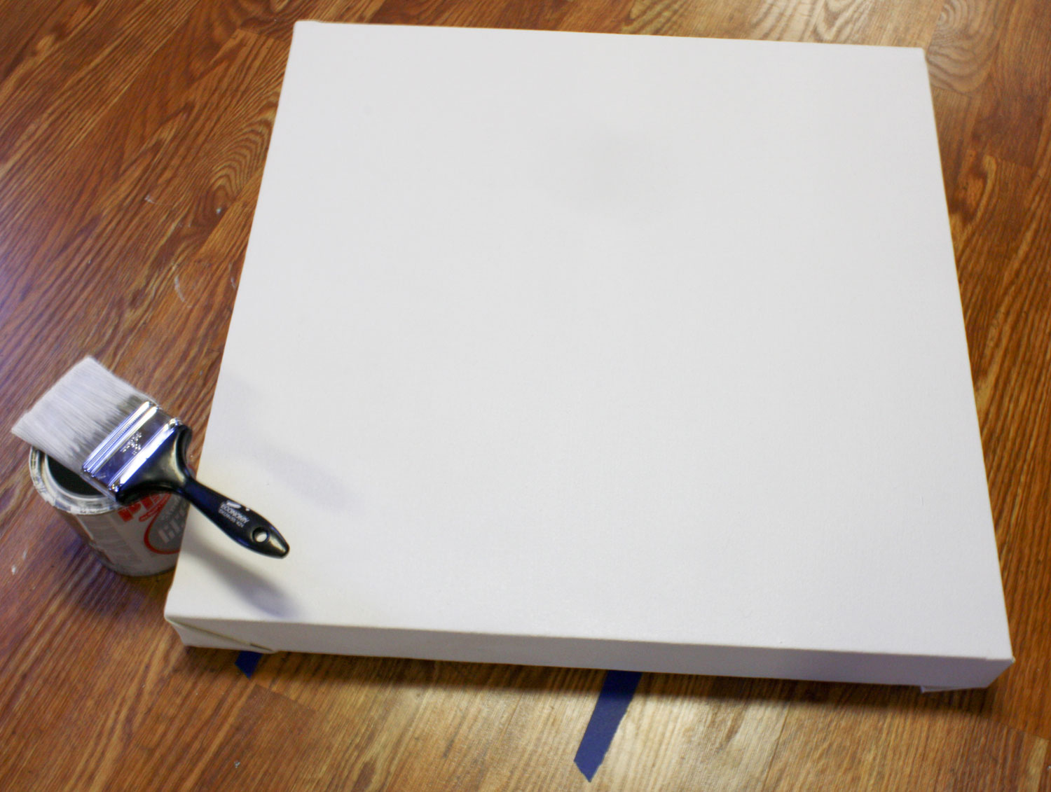 how to prepare a canvas for acrylic painting artist run