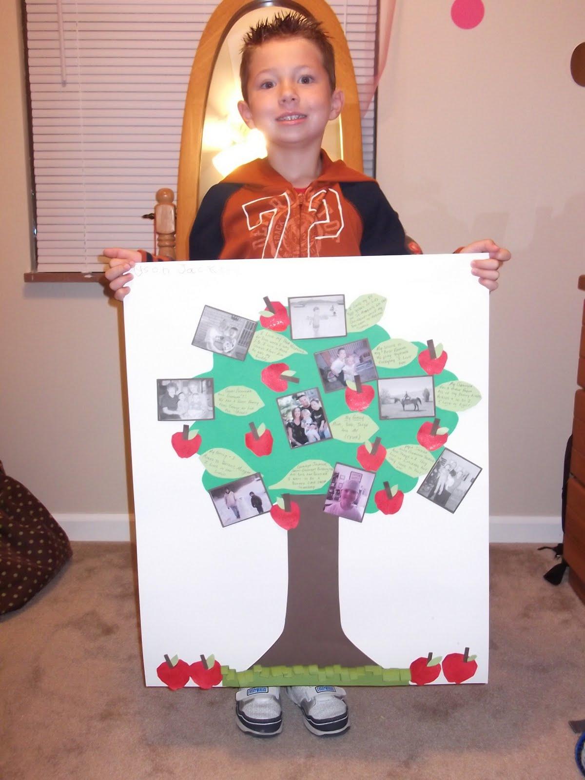 Family Tree Project and The Glamorous GalFamily Tree Ideas For Kids Project