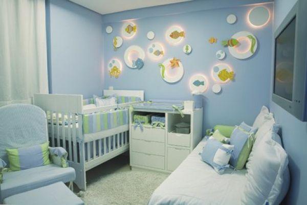 decoracao de jardim para quarto de bebe:Ocean Bedroom Decorating Ideas