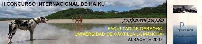 LIBRO PERRO SIN DUEÑO: II CONCURSO INTERNACIONAL DE HAIKU