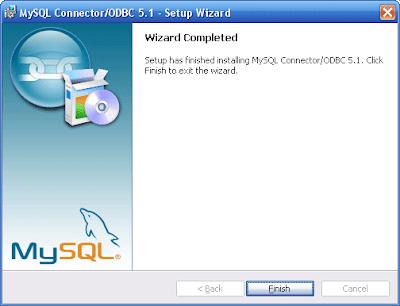 MySQL-ODBC install