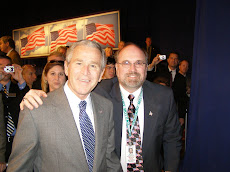 Mike with President George W. Bush 2007