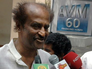 Rajni without makeup