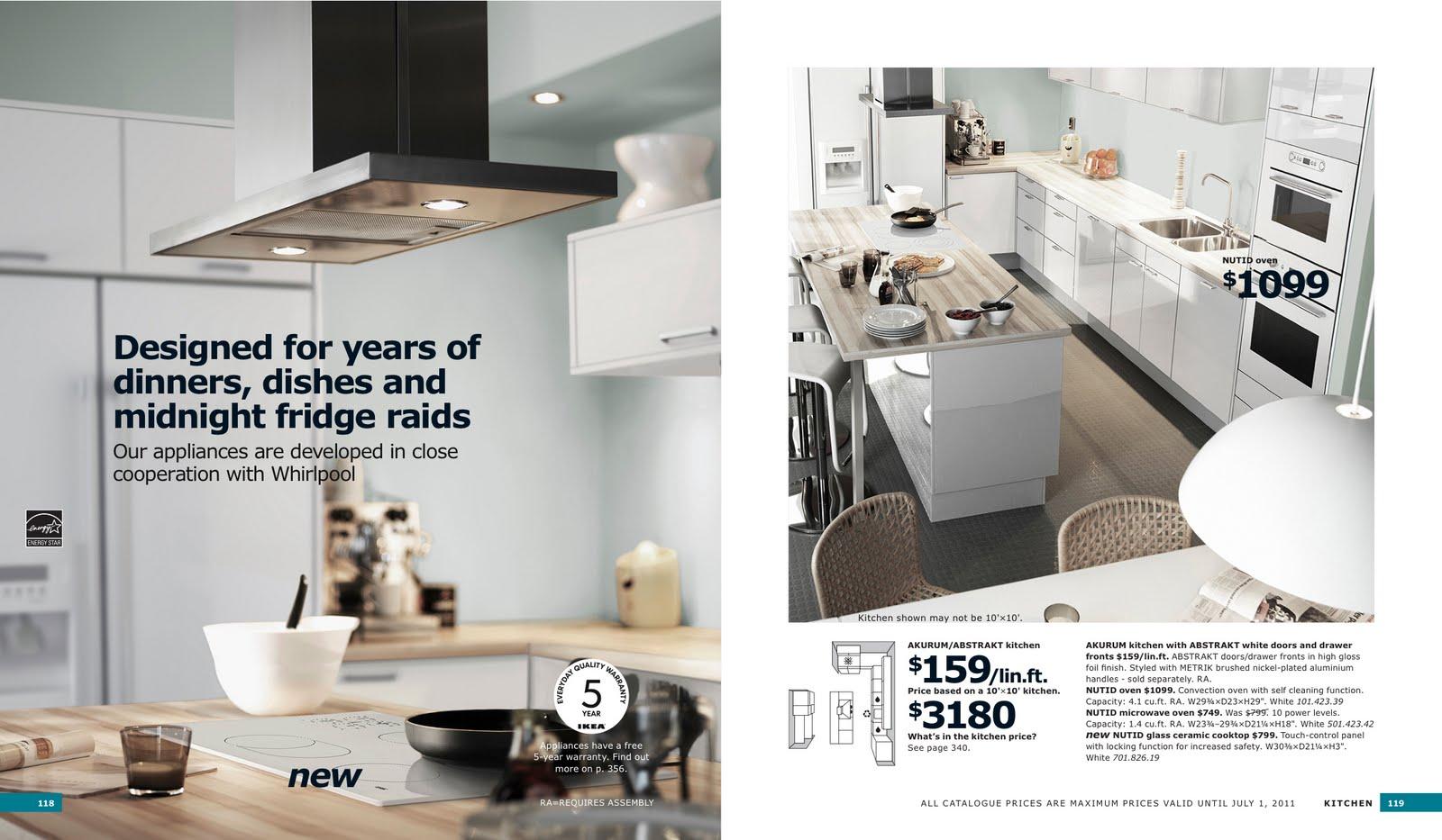 2011 Ikea Catalog design maze: ikea = chic = urban legend?