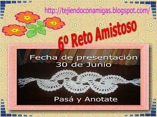 RETO AMISTOSO No. 6 CUMPLIDO