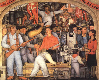 obras de diego rivera. [Diego Rivera: The Arsenal