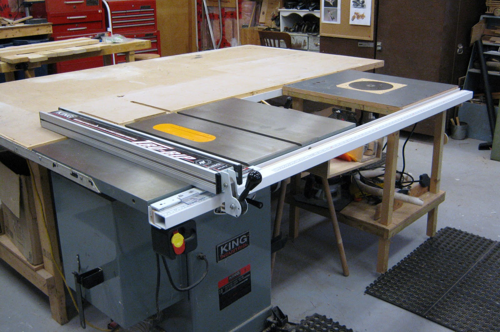 Fence for table saw and router car interior design Table saw fence