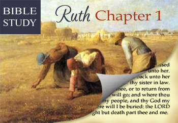 """The Journey Back: Studying Ruth """"A Virtuous Woman"""""""