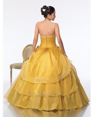 vestidos de 15 aos dorados. Vestido de 15 Años – Color Oro