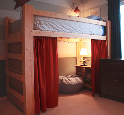 Kea Full Double Size High Bed Frame