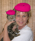 Little Bit & me in our raspberry berets.
