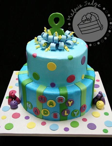 Cake Walk Bowling Birthday Party