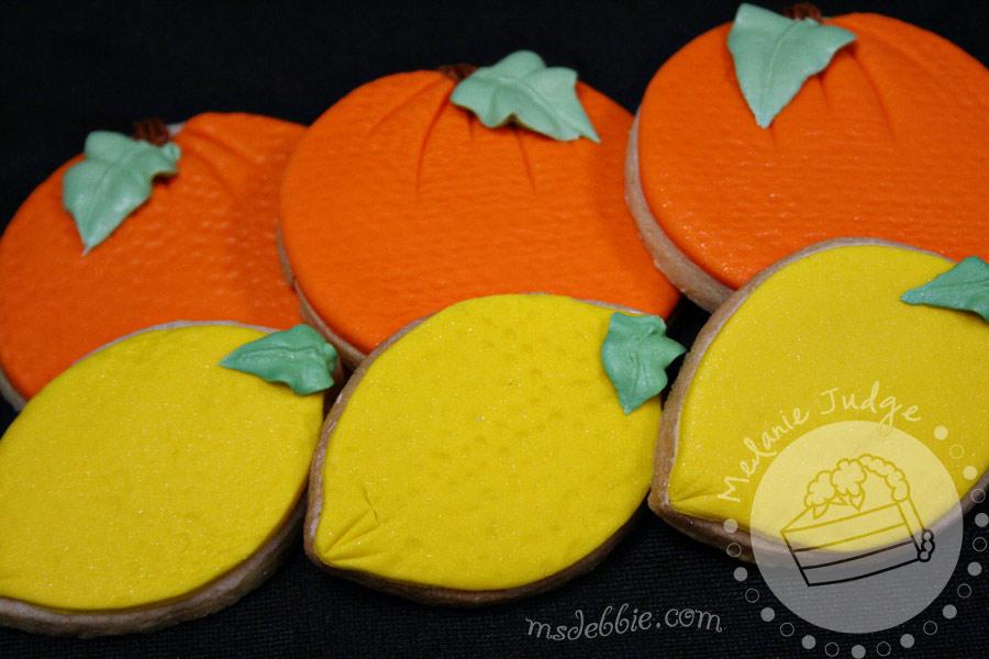 Lemon & Orange Cookies – Wedding Favors | Ph.D.-serts & Cakes