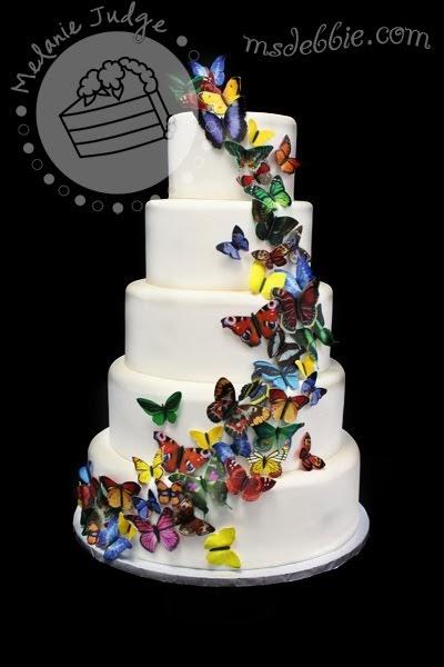 Cake Walk Butterfly Swarm Cakes