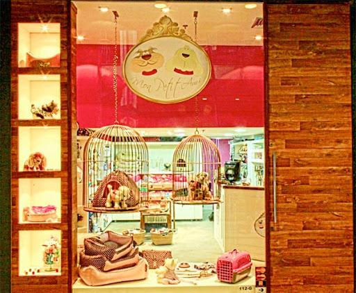 Fachada da Pet Shop Mon Petit Ami