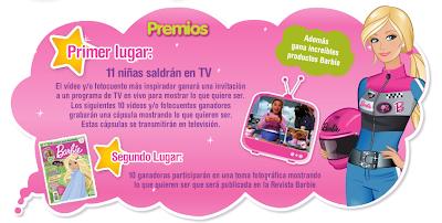 promocion barbie quiero ser premios 2010 mexico