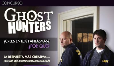 promocion Ghost Hunters Apple Macbook Pro scifi channel