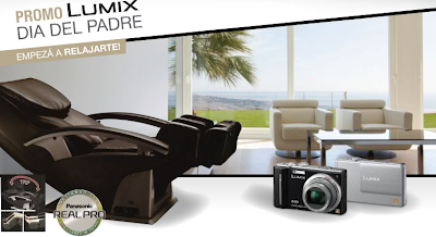 promocion premio sillon modelo EP-MA20-K400 lumix argentina panasonic 2010
