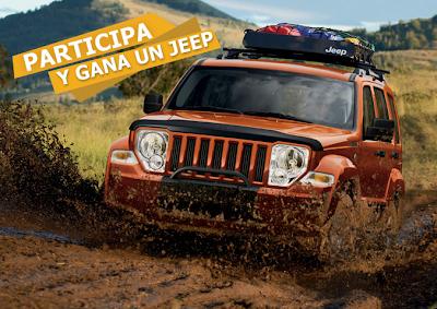 Jeep Liberty 2011 sport 4x2 premio promocion Concurso de fotografía  Yo Soy Jeep  México Desconocido de CHRYSLER