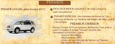 premios promocion ford escape Mexico