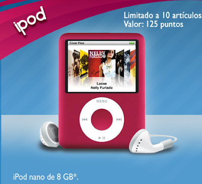 premio ipod nano promocion ziploc Mexico 2011