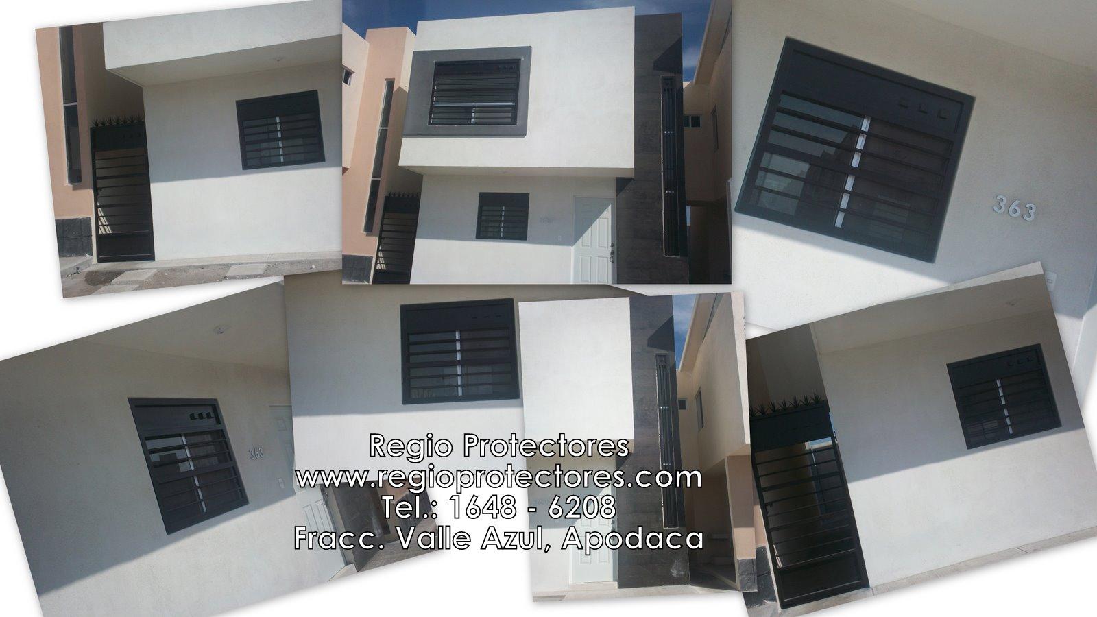 Regio Protectores, Protectores para ventanas, Fracc. Valle Azul