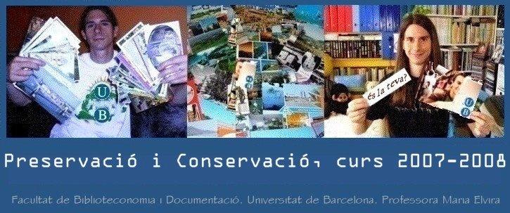 Preservació Conservació 2007-08