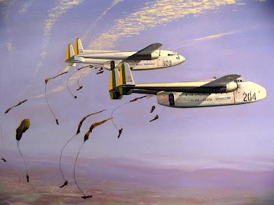 Os vagoes da Força Aérea Brasileira C-119+Flying+Boxcar+-+C-82+Packet+For%C3%A7a+A%C3%A9rea+Brasileira-Brazilian+Air+Force