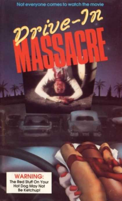 I'm just going to jump right into it: Drive In Massacre a movie directed by